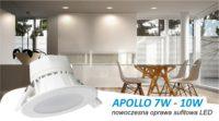 Apollo LED uniwersalna oprawa sufitowa