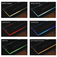 Klipsy LED - podświetlanie szkalnych półek