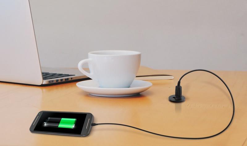 Ładowarka USB 12V do mebli