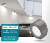 Oprawa LED Oval Skos - Design Light