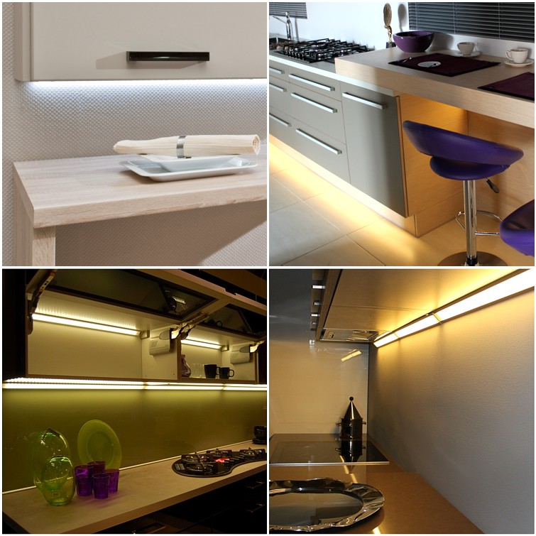 Profle LED oświetlenie kuchenne