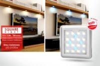 dwu-kolorowe oświetlenie LED - Square Night