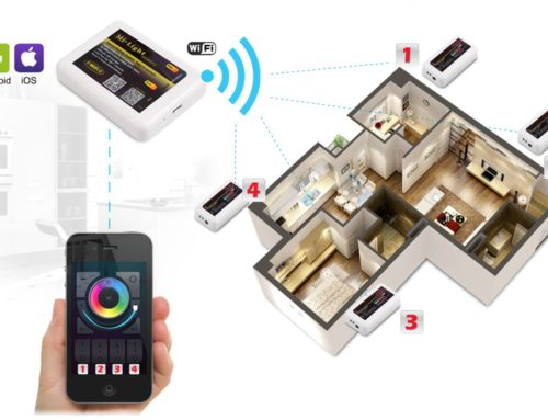 Sterownik / kontroler WiFi do LED