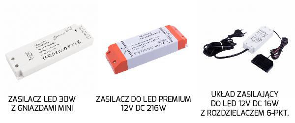 Zasilacze do oświetlenia LED
