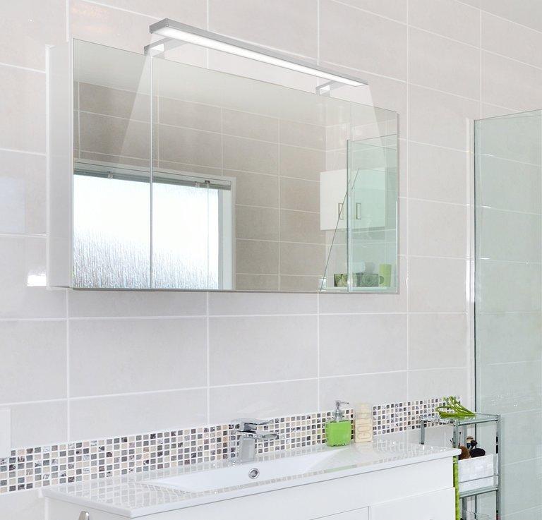 optyczne powiększenie małej łazienki - Designlight