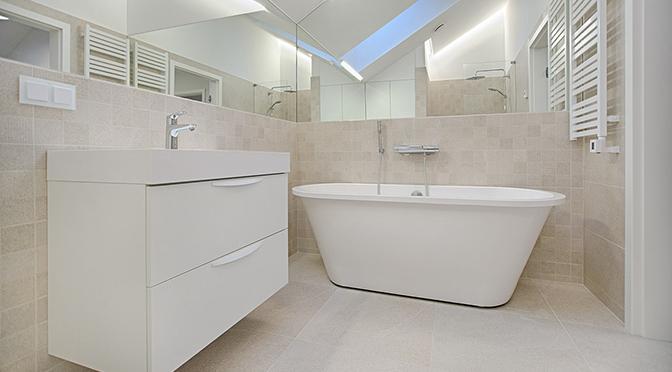 oświetlenie do małej łazienki - Designlight