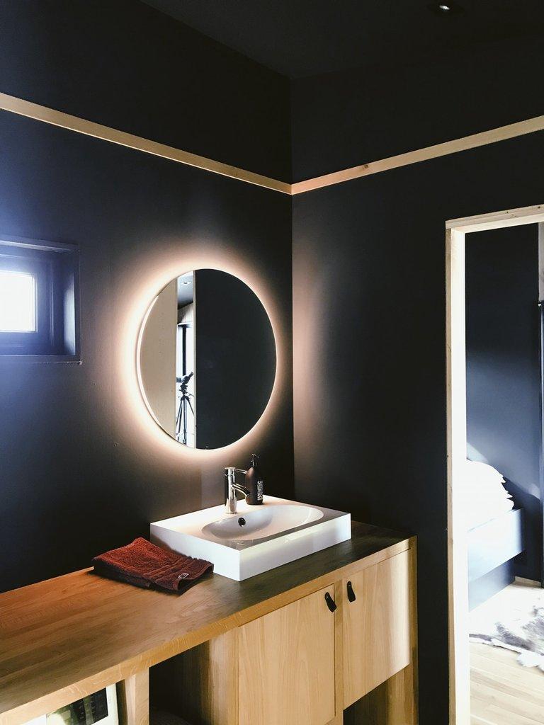 Jak oświetlić małą łazienkę - Designlight