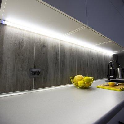profil aluminiowy corner line o długości 2 metrów do kuchni - Designlight.pl