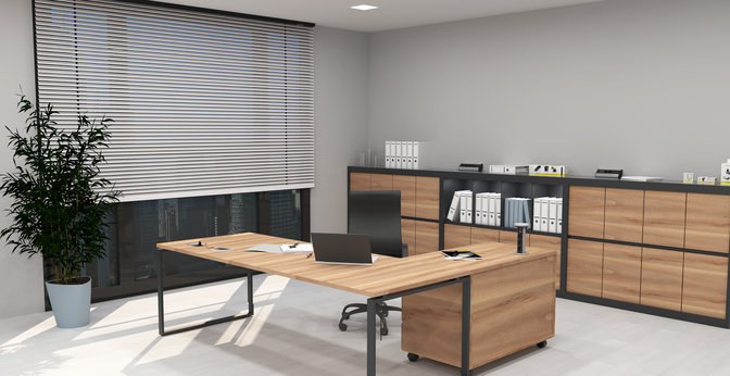 idealne warunki do home office - designlight