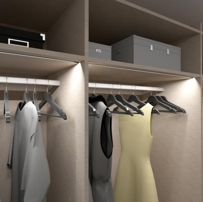 Praktyczne oświetlenie do szafy – przegląd akcesoriów - designlight