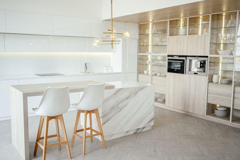 nowoczesne oświetlenie w kuchni - designlight.pl