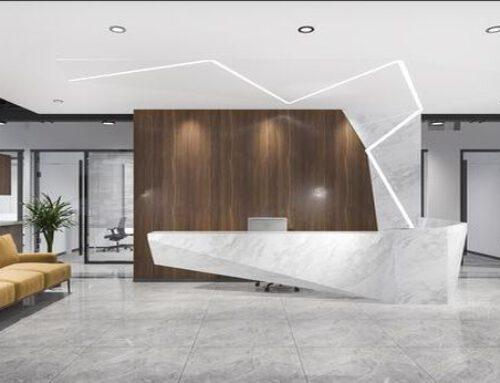 Nowoczesne oświetlenie do biura – barwa światła i przykłady aranżacji