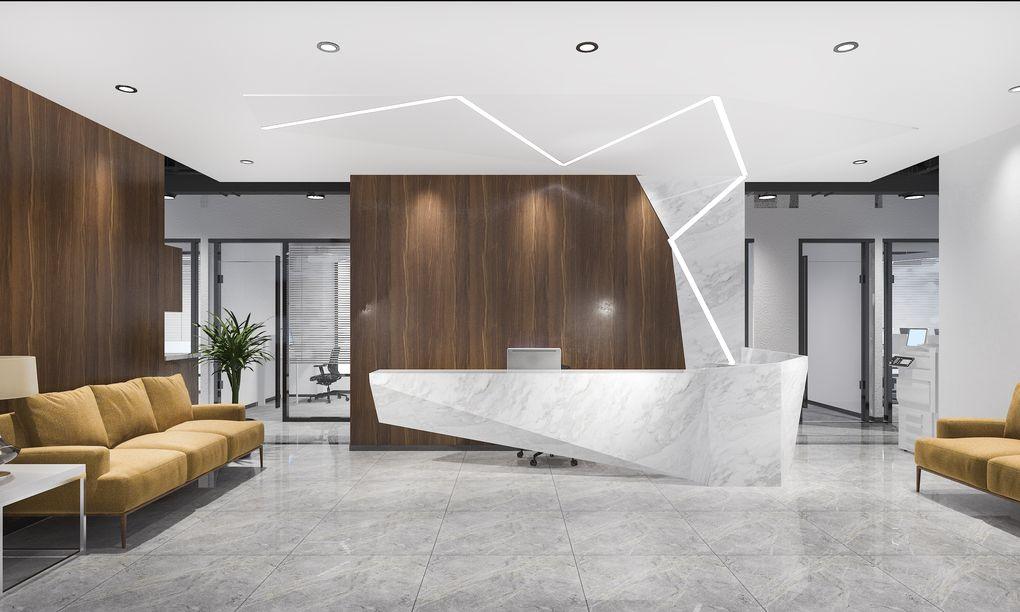 Dobre oświetlenie biurowe zwiększa wydajność pracowników.