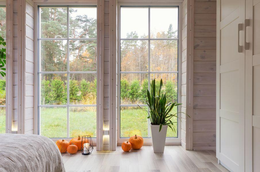 jak oświetlić jesienią dom